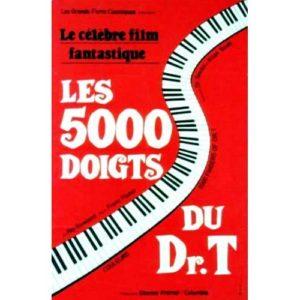 Affiche 75x115cm – LES 5000 DOIGTS DU DR. T /Roy Rowland