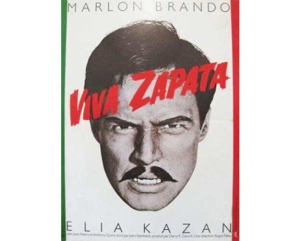 Affiche 60x80cm – VIVA ZAPATA / Elia Kazan / Marlo Brando