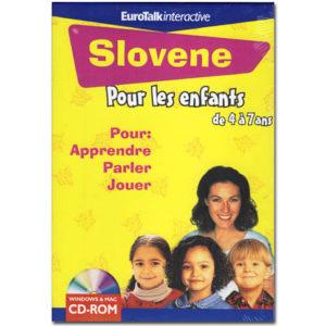 Le SLOVENE pour les enfants de 4 à 7 ans (EuroTalk)