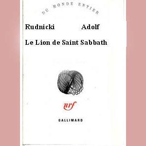 Rudnicki Adolf : Le Lion de Saint Sabbath