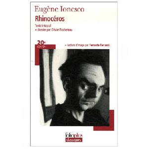 Ionesco Eugène : Rhinocéros