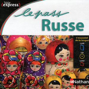 Le PASS RUSSE – 1 livre + 1 livret + 1 cd audio