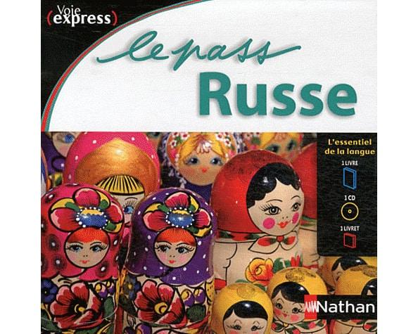 Le PASS RUSSE – 1 livre + 1 livret + 1 cd audio