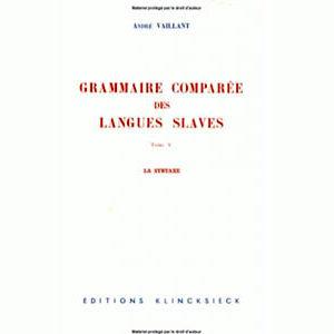 La Grammaire comparée des langues slaves : La syntaxe
