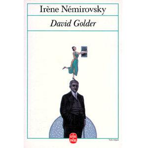 Némirovsky Irène : David Golder