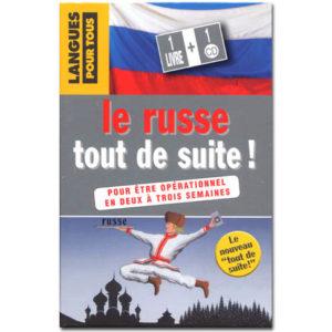 Le RUSSE tout de suite ! – Livre + CD (Pocket)