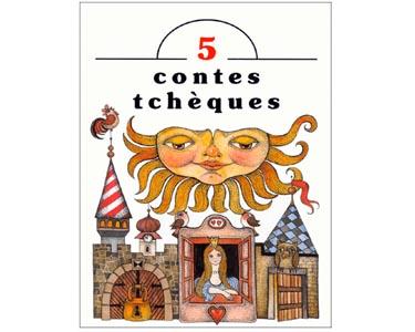 Grand livre-album illustré '5 contes tchèques'