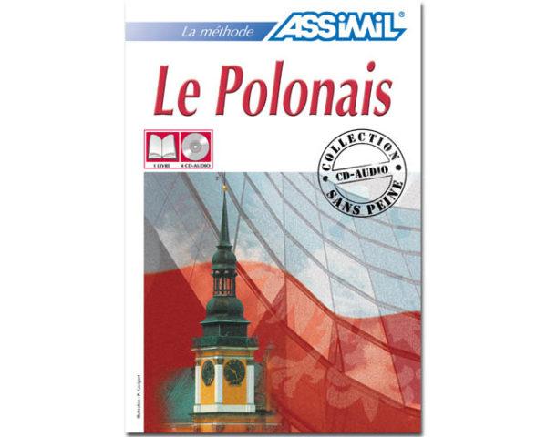 Le POLONAIS sans peine – Manuel + 4 CD