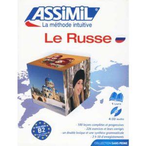 Le nouveau RUSSE sans peine – PACK CD (LIVRE + CD AUDIO)