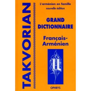 Grand dictionnaire Français-Arménien – l'Arménien en famille