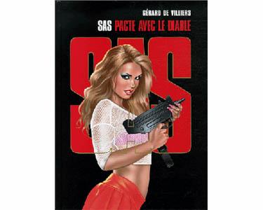 BD : De Villiers Gérard : SAS Pacte avec le diable