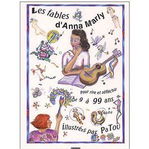 Livre-album 'Les fables d'Anna Marly' née Betoulinsky