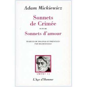 Mickiewicz Adam : Les Sonnets de Crimée