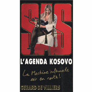 De Villiers Gérard : L'agenda Kosovo (Policier)