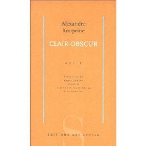 KOUPRINE Alexandre : Clair-obscur – Récit