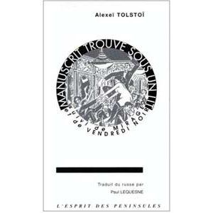 Tolstoi Alexis : Manuscrit trouvé sous un lit. suivi de Mirage