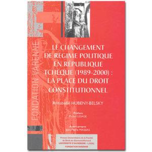 Le changement de régime politique en République Tchèque