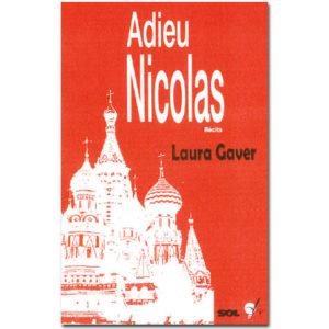Gaver Laure : ADIEU NICOLAS