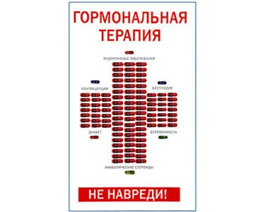 La thérapie hormonale (en russe) Gormonalnaia terapia