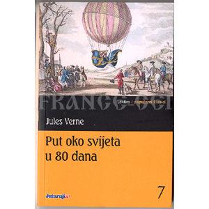 Livre en croate : Put oko svijeta u 80 dana- Jules Verne