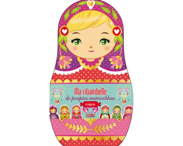 Ma ribambelle de poupées matriochka russe : guirlande 2,5 m