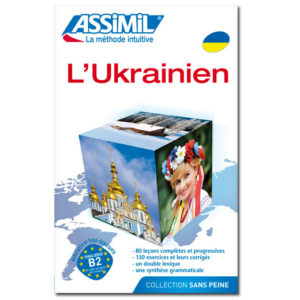 Ukrainien SUPER PACK (LIVRE + CD AUDIO + CD MP3)
