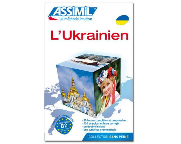 Ukrainien SUPER PACK (LIVRE + CD AUDIO + CD MP3)