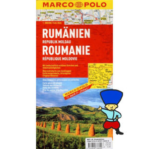 Marco Polo – Roumanie, République de Moldavie – 1/800 000