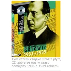 CD rom : Histoire de la Pologne 1936 – 1939 (en polonais)