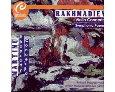 CDtkz1 – Erkegali Rakhmadiev: Concert / violon