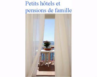 Guide 'Petits hôtels et pensions de famille en Croatie'