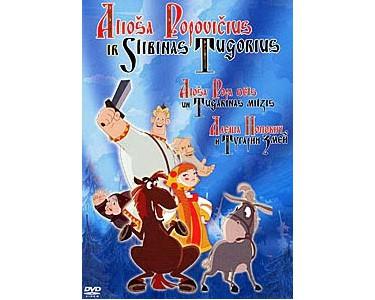 Dvd0429 – DVD Aliocha Popovich (russe, estonien, lituanien)