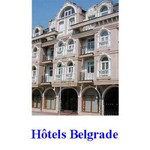 Mini-Guide : Hôtels de Belgrade + plans de la ville