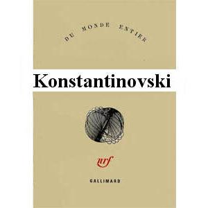 Konstantinovski Iliya : Le Seider De Varsovie