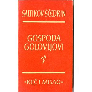Livre en serbo-croate 'Gospoda Golovljovi'