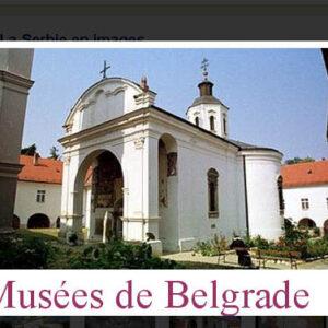 Guide 'Les Musées de Belgrade'