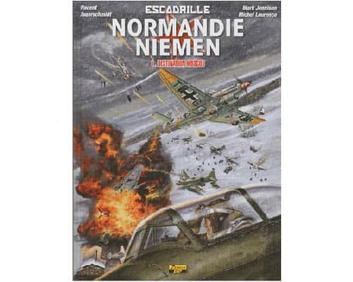 BD : Escadrille Normandie-Niemen Tome 1 Destination Moscou