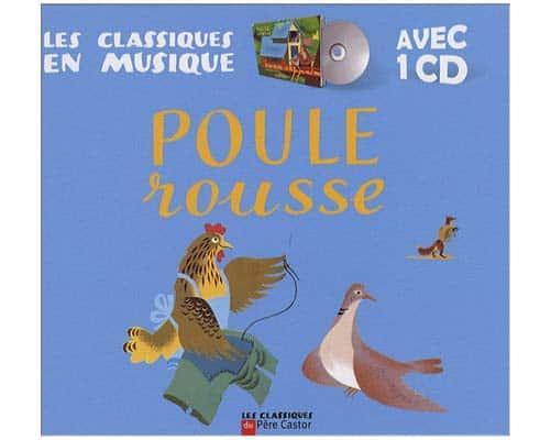 Conte russe : Poule rousse. Avec 1 CD audio