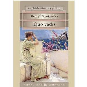 Sienkiewicz Henryk (prix Nobel en 1905) : Quo vadis ? (polonais)