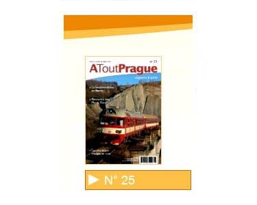 Magazine A Tout Prague N°25 : 10 plus belles excursions en train