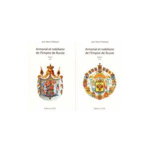 Armorial et nobiliaire de l'Empire de Russie – 2 volumes