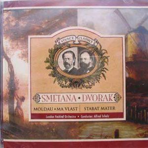 CD Musique tchèque : Smetana Dvorak