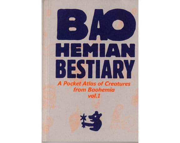 Bao Hemian Bestiary- Petit livre de dessins tchèques