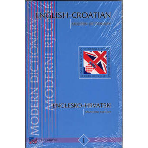 English croatian modern dictionary – Dictionnaire croate