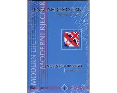 English croatian modern dictionary – Dictionnaire croate
