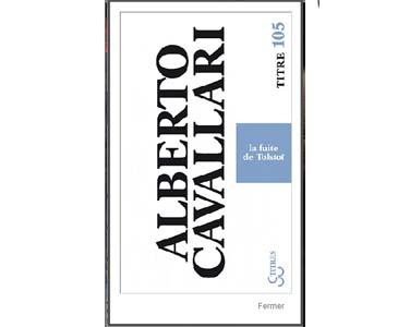 Cavallari Alberto : La fuite de Tolstoï