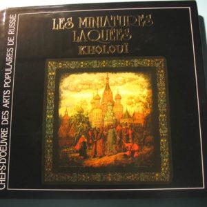 Livre – Album 'Les miniatures laquées russes KHOLOUI'