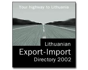Lithuanian Export-Import Directory 2002 (téléchargeable)