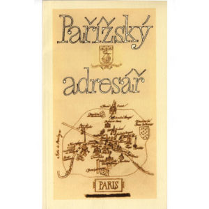Parizsky adresar-petit Guide de Paris illustré