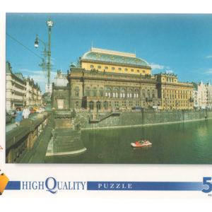 Puzzle 500 pièces – Prague, Théâtre National